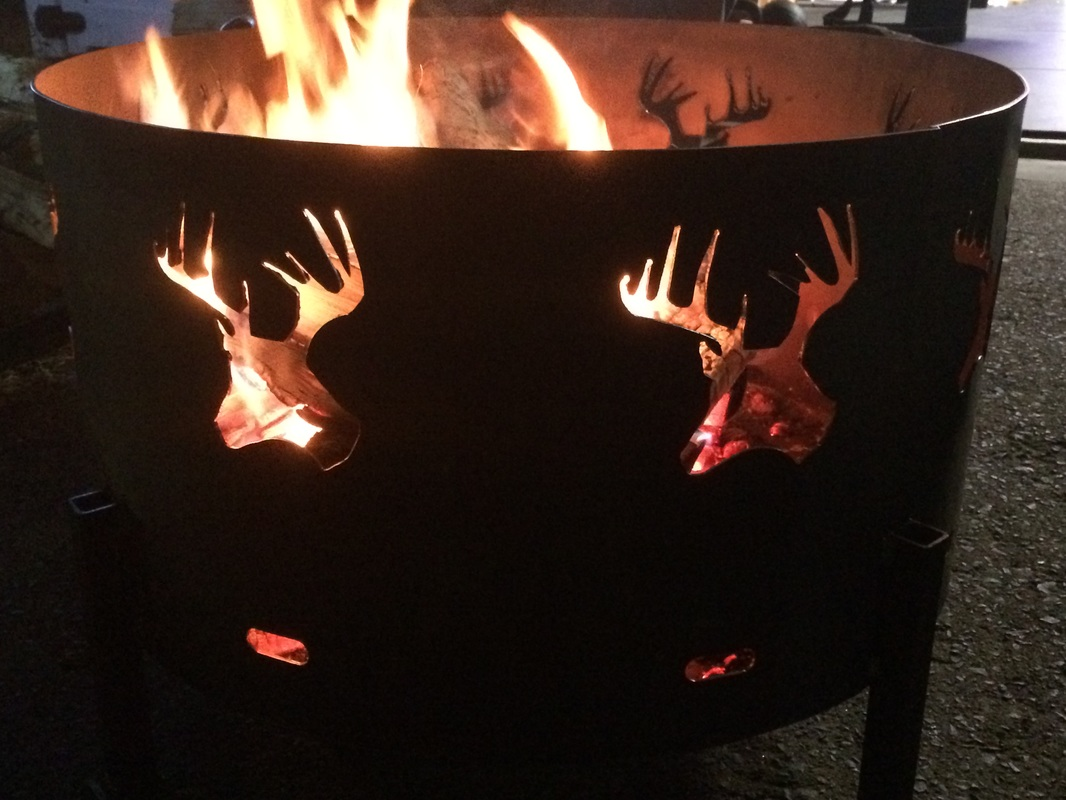 deer head firepit